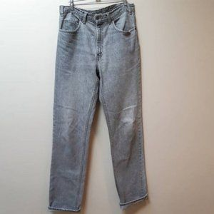 Levis faded 516 jeans / grey black